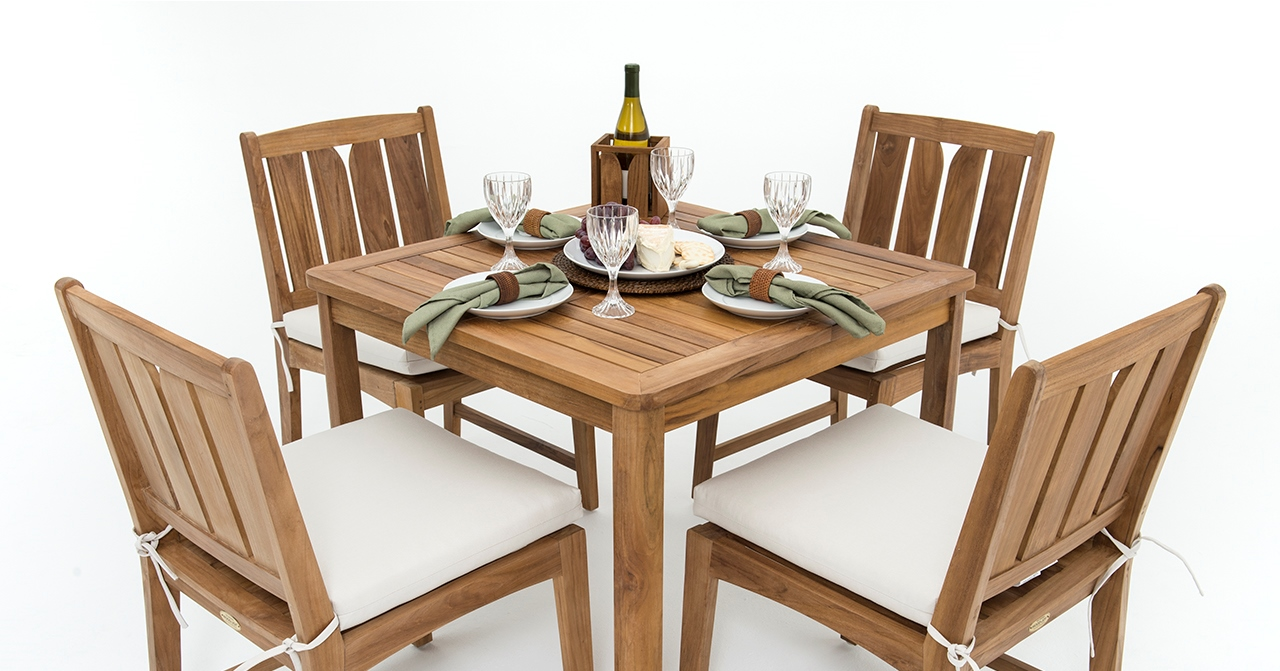 Just Released   The KONA Collection   New Premium Teak Bistro Sets Part 81